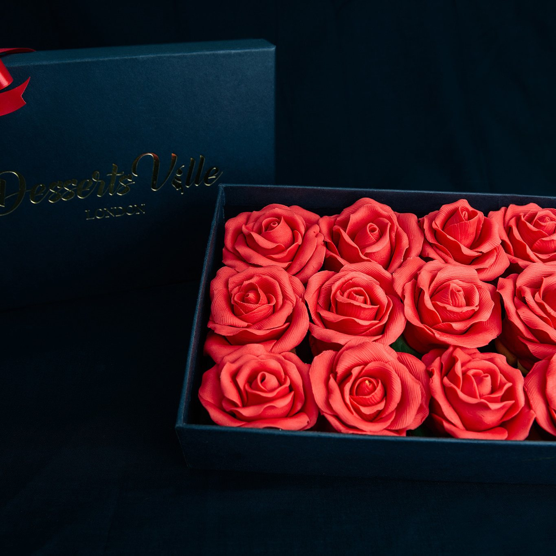 Chocolate Roses Box - Yumbles.com