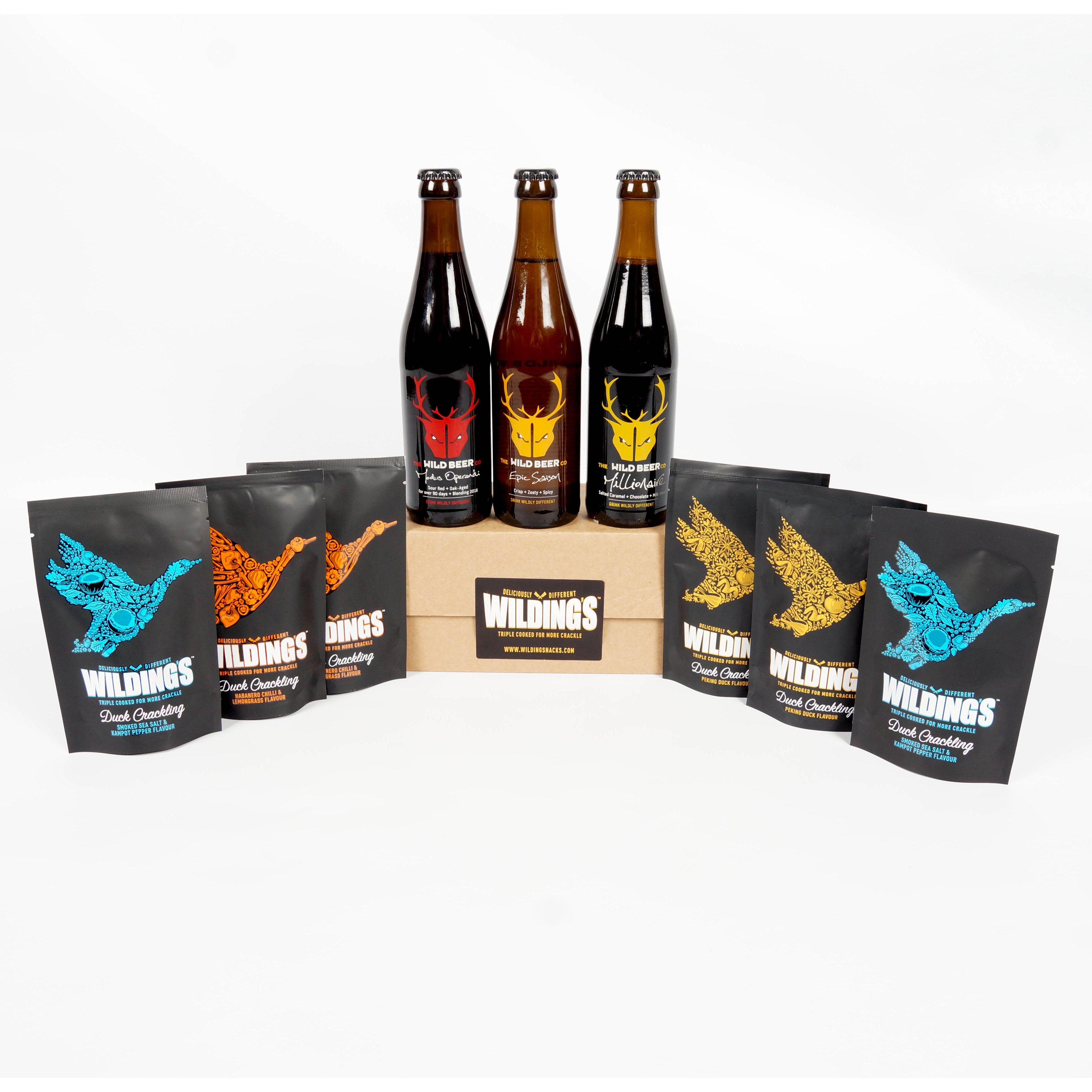 Craft beer gift box - Habanero Lemongrass Duck Crackling