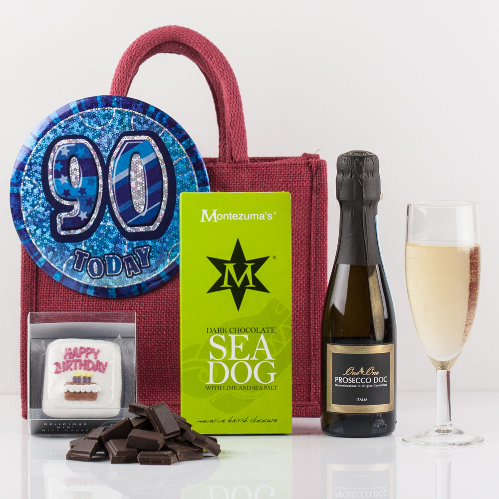 Happy 90th Birthday Gift Bag from Natures Hampers ...