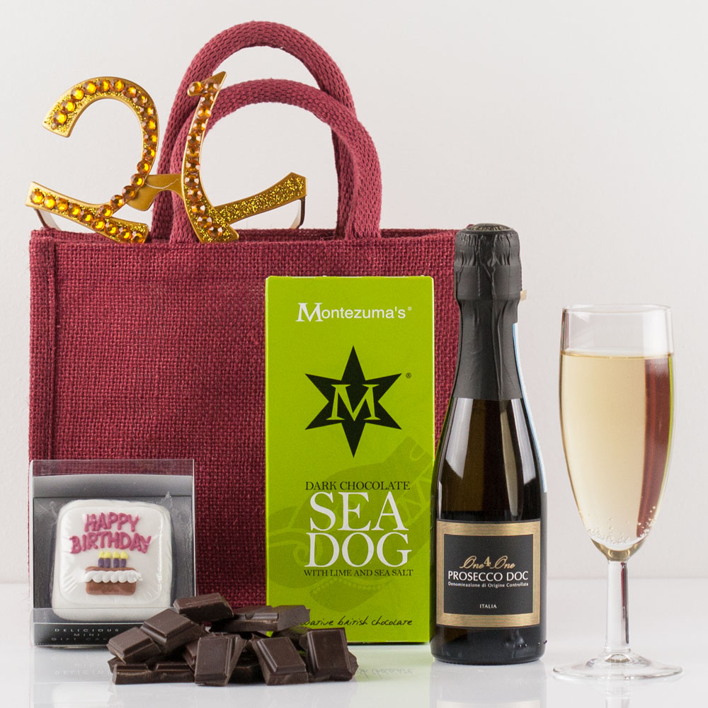 Happy 21st Birthday Gift Bag From Natures Hampers