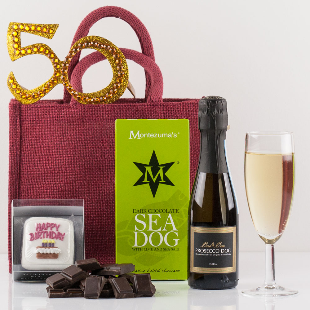 HamperPictures Happy 50th Birthday Gift BagJuly2017