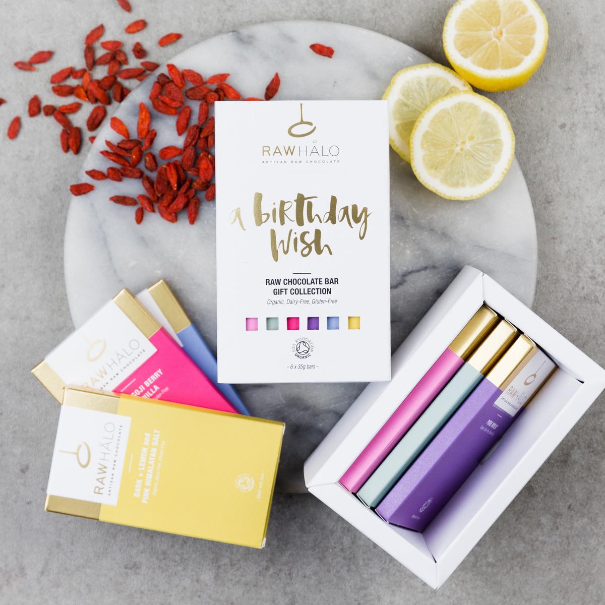 Raw Chocolate Birthday Gift Box