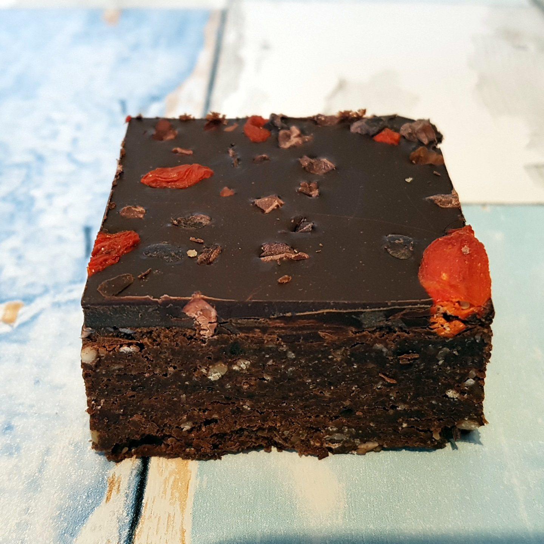 Yummy Scrummy Raw Chocolate Brownie Stack