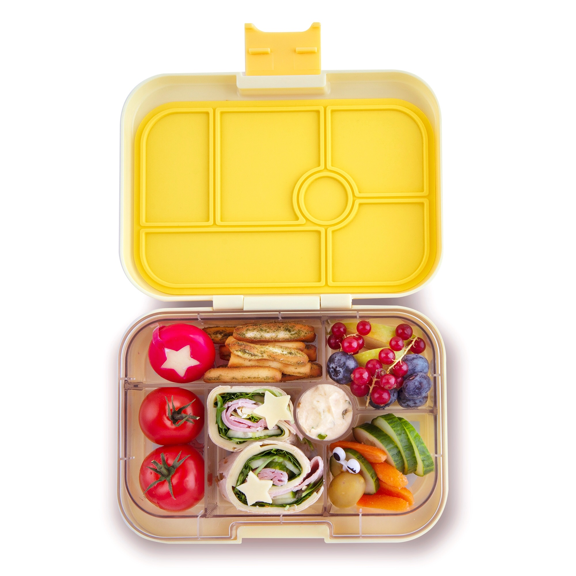 Lila Purple Yumbox Original 6-Compartment Lunch Box