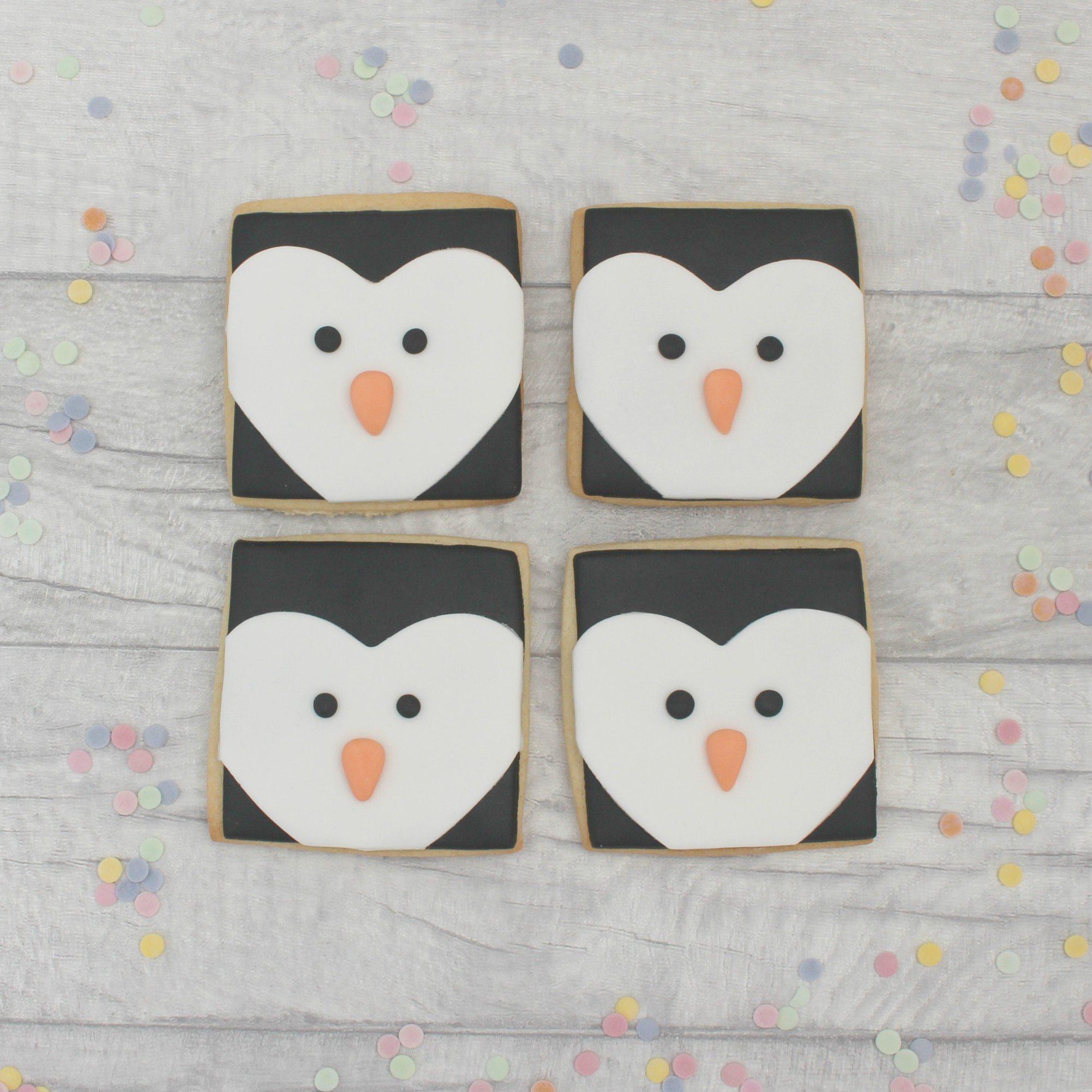Penguin Cookies House Cookies