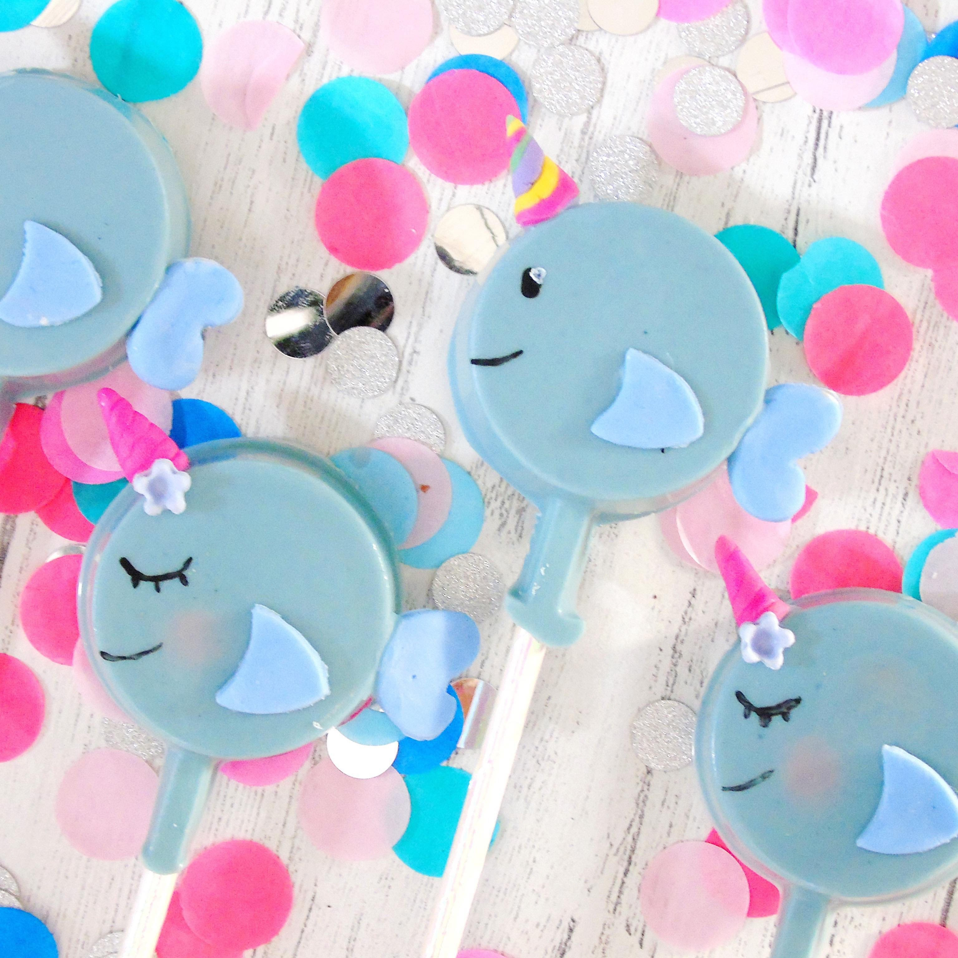 Narwhal Cakesicles (Gift Box of 4)