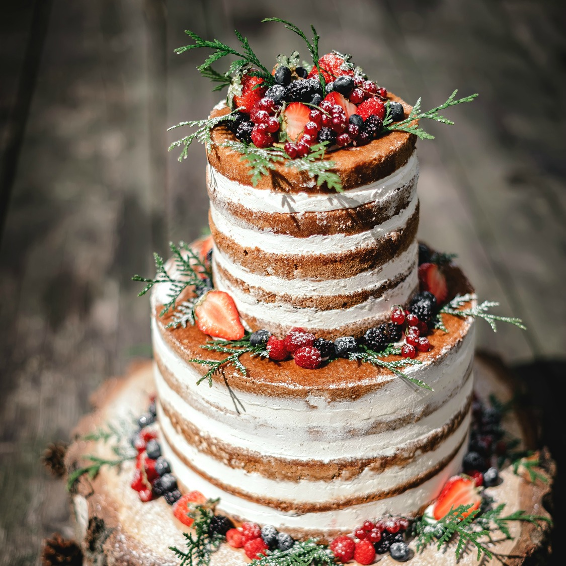 Naked Wedding Cake Yumbles Com