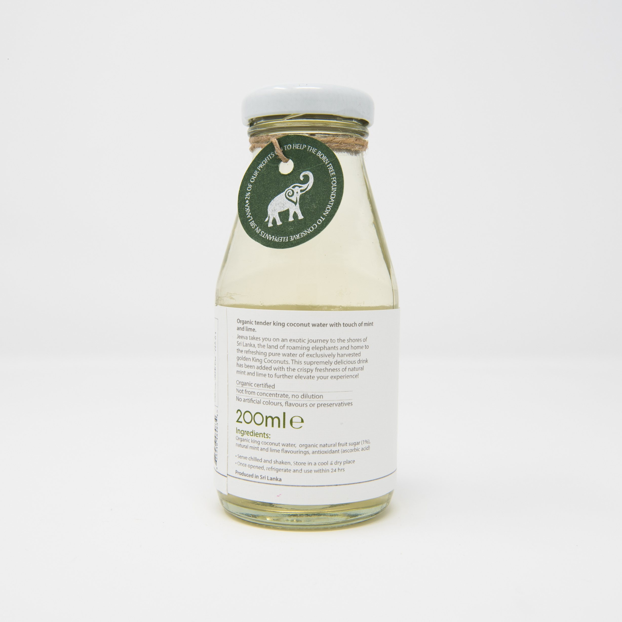 Organic King Coconut Water Mint Lime