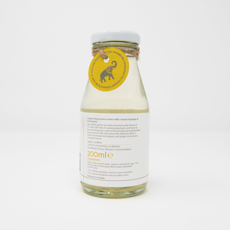 Organic King Coconut Water Ginger Lemongrass
