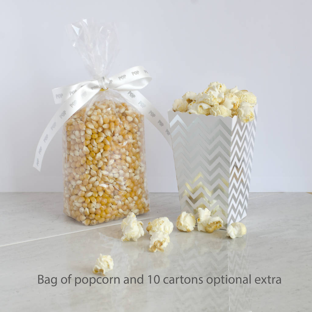 Personalised Make Your Own Christmas Popcorn Kit - Yumbles.com