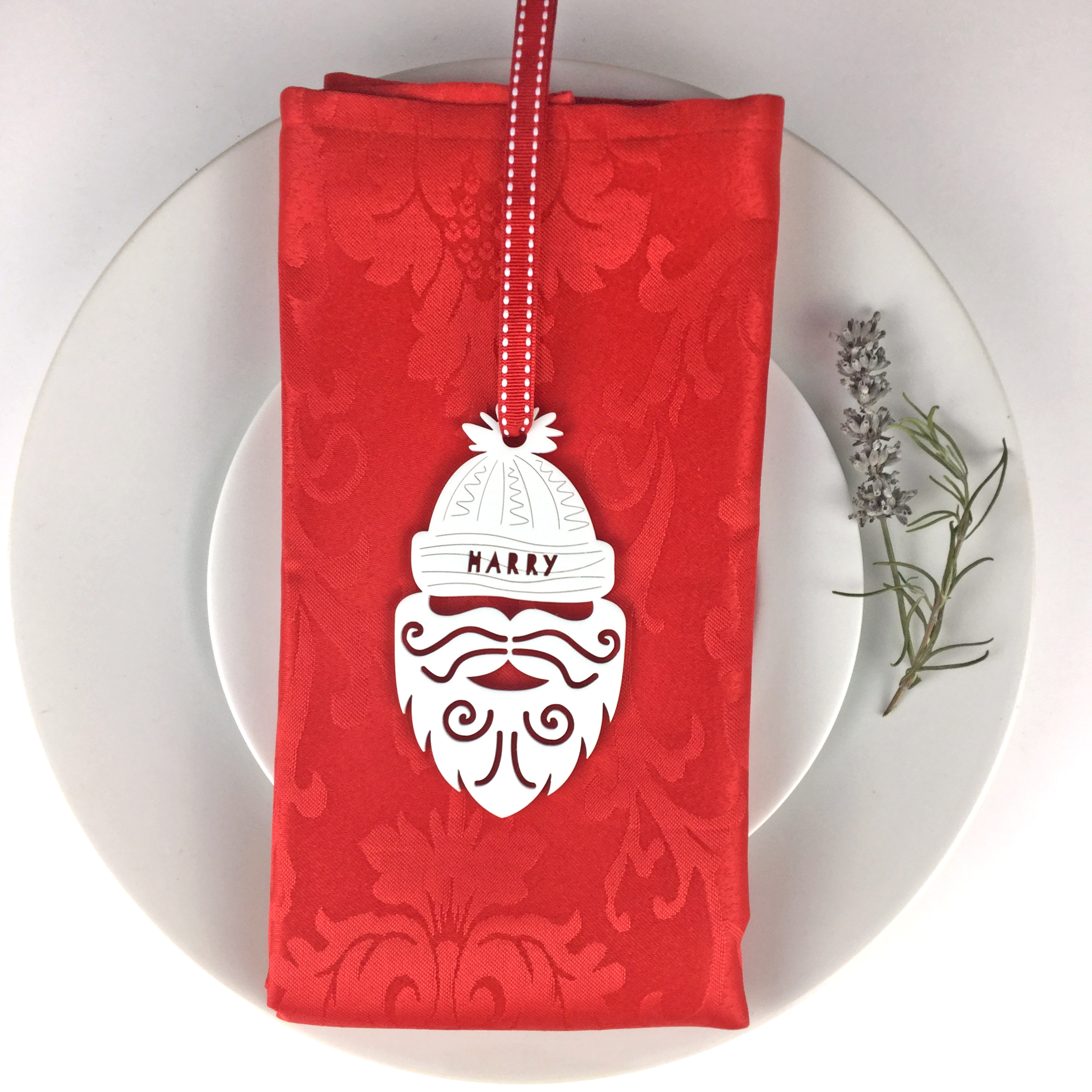 051e16a7847 Personalised Santa Christmas Place Settings Set of 4 - Yumbles.com
