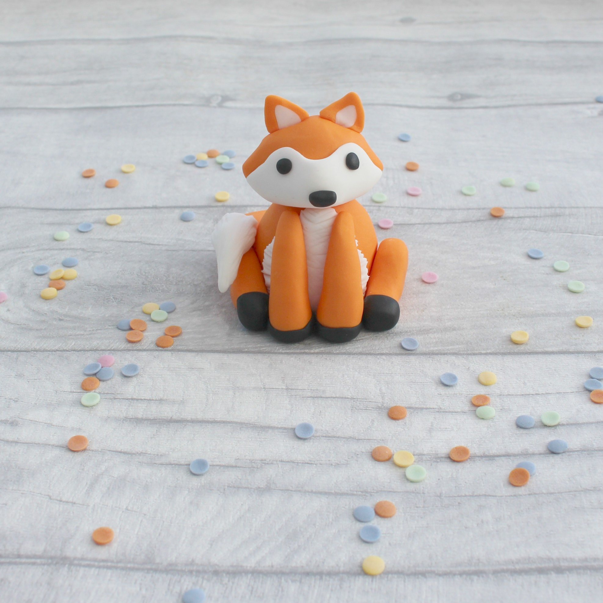Edible Fox Cake Topper