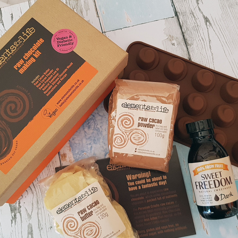 Valentines Raw Chocolate Making Kit