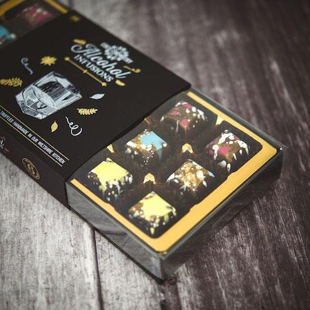 BOOZY CHOCOLATE BOXES