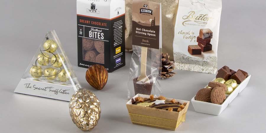 Christmas Chocolate Hampers