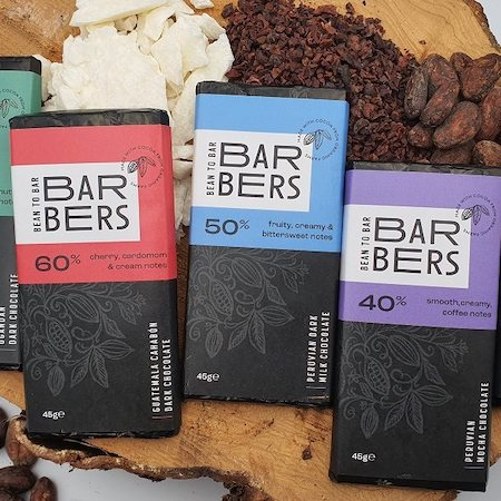Barbers Bean To Bar 20% off