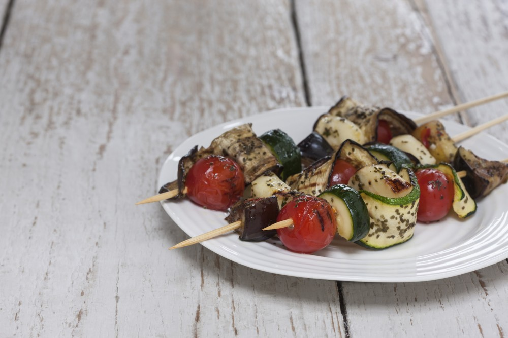 Kombu Vegetable Kebabs