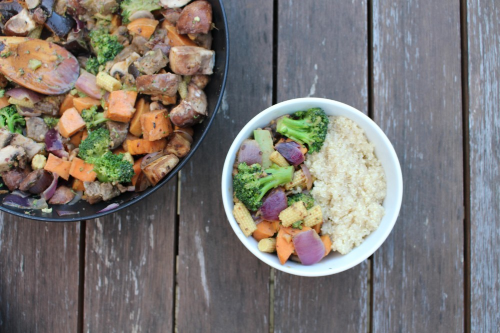 Satay Vegetable Stir Fry