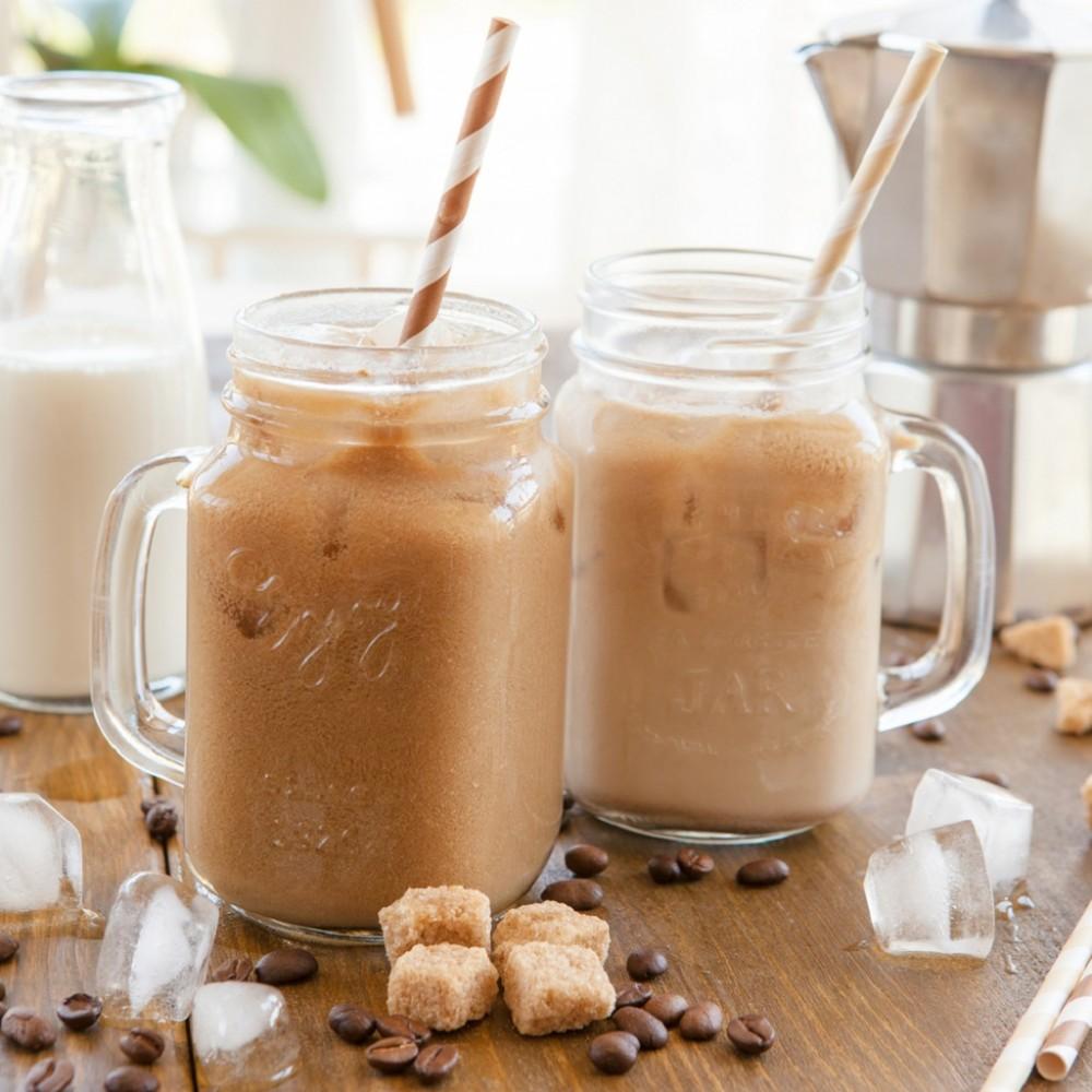Kick the Sugar: Homemade Iced Coffee