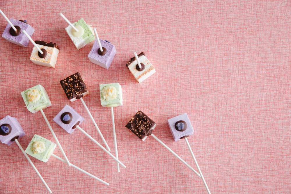 Colourful Gourmet Marshmallow Pops
