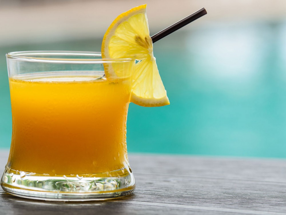 Orange Juice Helps You Think Straight