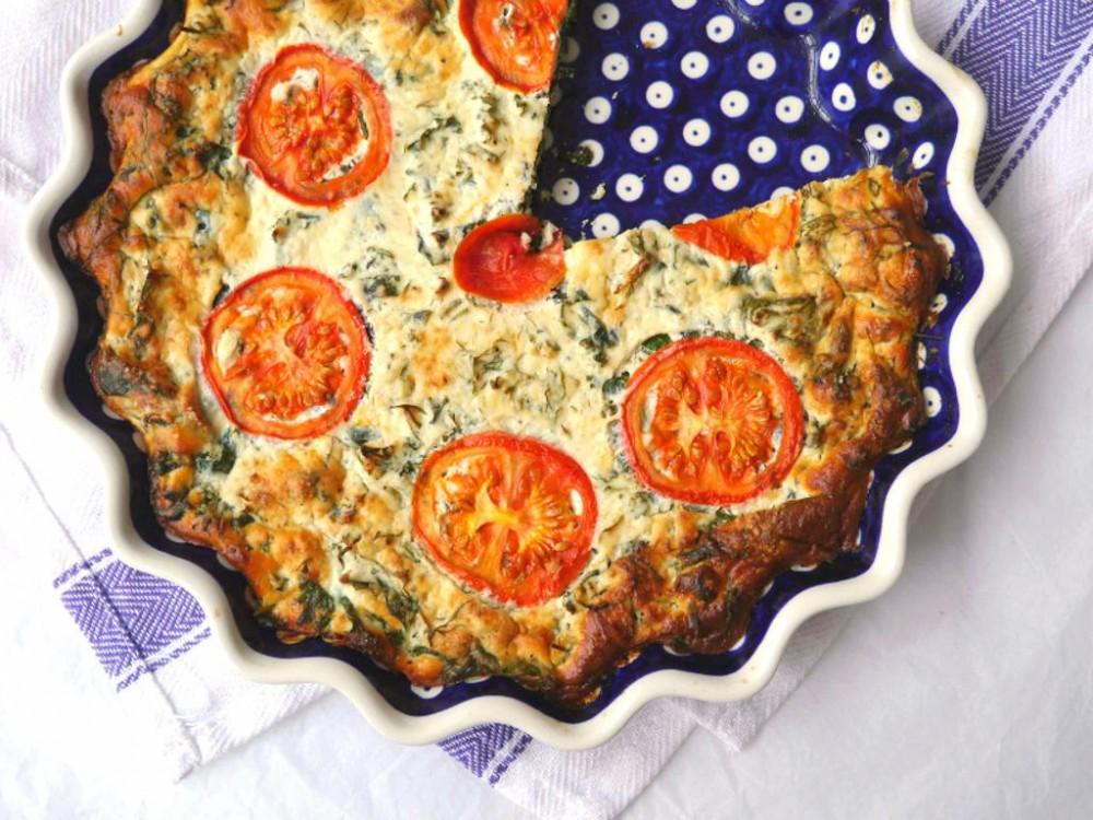 British Food Fortnight: Kale, Dill & Ricotta Pie
