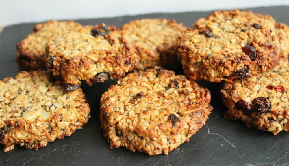 Fruity Oat & Peanut Butter Power Cookies
