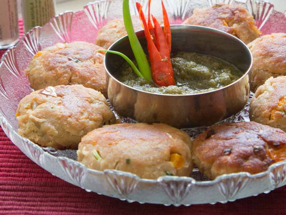 Fish Cutlets with Coriander and Ginger