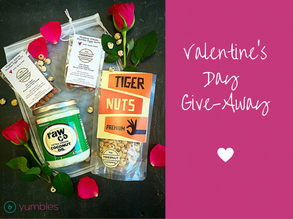Win a Healthy Valentines Bundle with the Tiger Nut Company and RawCo