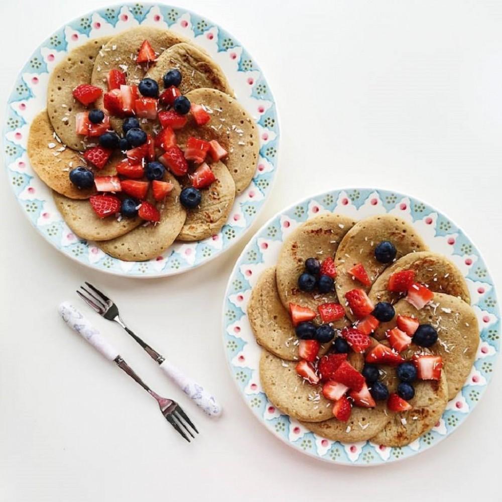 Vegan & Gluten-Free Protein Pancakes