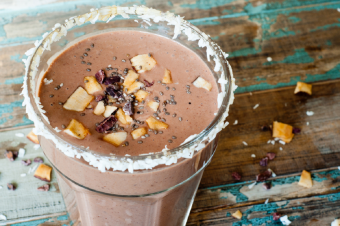 Chocolate Almond Decadence Smoothie