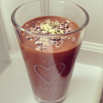 Chocolate and Peanut Butter 'Milkshake'