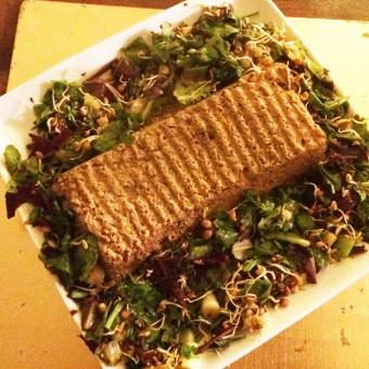 George's Tofu & Tomato Loaf