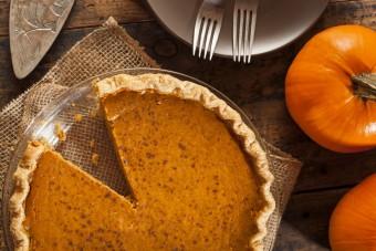 Pumpkin Pie With A Coconut Twist