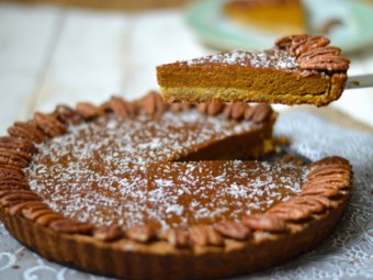 Tiger Nut Pumpkin Pie