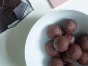 Seriously Indulgent Vegan, Chocolate Orange Truffles