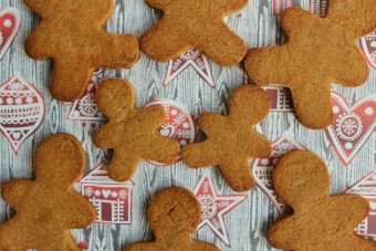 Gluten and Dairy-Free Healthier Gingerbread Men