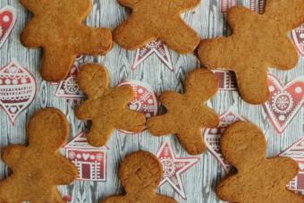 Gluten and Dairy-Free Healthier Gingerbread Men
