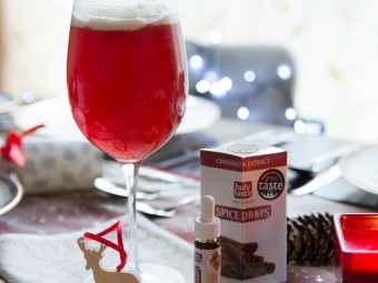 The Red Rudolph Cocktail