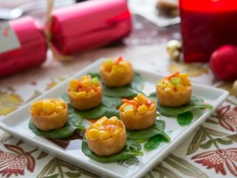 Thai Corn, Chilli & Lime Croustades