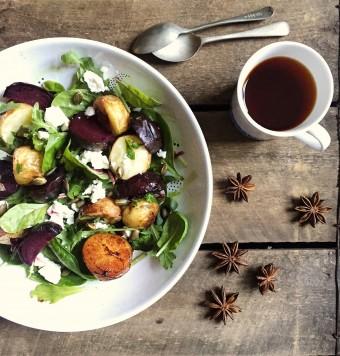 Roasted Beetroot Winter Salad