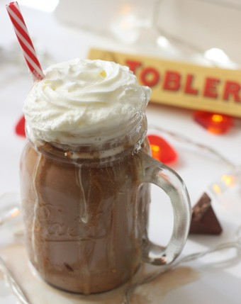 2 Minute Toblerone Hot Chocolate