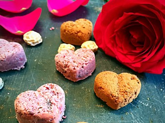 Healthy Cherry Love Hearts Recipe