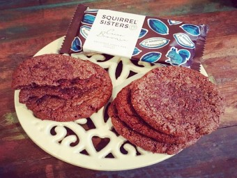 Squirrel Sisters Cacao Brownie Double Choc Cookies