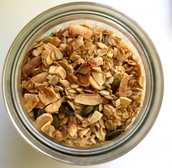 Healthy however-you-like-it Granola