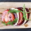 Smoked Venison Mozzarella & Tomato Starter