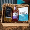Devon Cove Damson Liqueur and Salcombe Dairy Chocolate Gift Set
