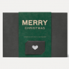 Merry Christmas Organic Chocolate Gift Box
