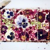 White Floral Brownie