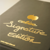 Elegant box is handsigned by the Colive team